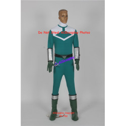 Power Rangers Time Force Green Time Force Ranger Cosplay Costume