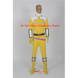 Power Rangers Time Force Yellow Time Force Ranger Cosplay Costume