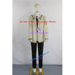 Angel Beats SSS Male Uniform Cosplay Costumes