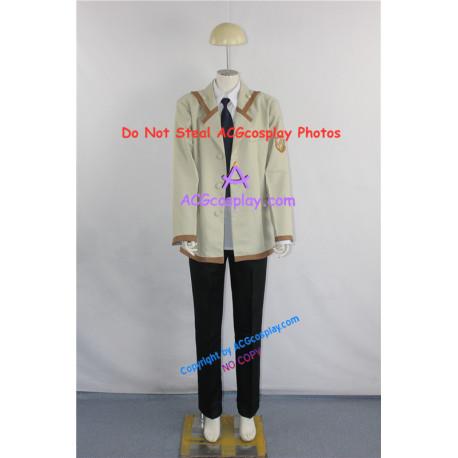 Angel Beats SSS Male Uniform Cosplay Costumes