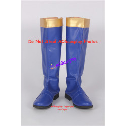 Power Rangers Dino Thunder Blue Dino Ranger Cosplay boots cosplay shoes