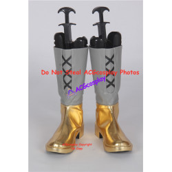 Ancient Warriors Legacies of Olympus golden set cosplay shoes boots
