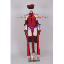 Street Fighter Bison Cammy cosplay costume include cap and cape