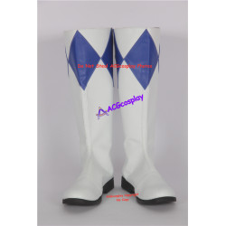 Mighty Morphin Power Rangers Blue Ranger Cosplay Boots Cosplay Shoes