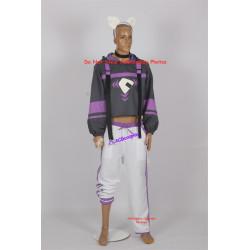 Nekomata Okayu vtuber cosplay costume include tail and headgear