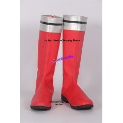 Power Rangers SPD Red Ranger Cosplay shoes boots