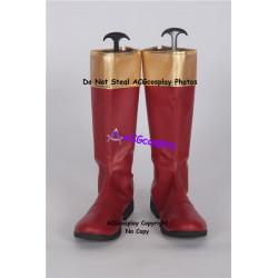 Power Rangers Ninja Storm Crimson Thunder Ranger red Cosplay Boots cosplay shoes