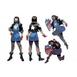 Capatain America ari agbayani cosplay costume marvel cosplay