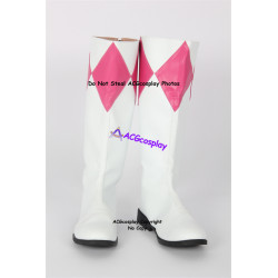 Mighty Morphin Power Rangers Pink Ranger cosplay boots shoes