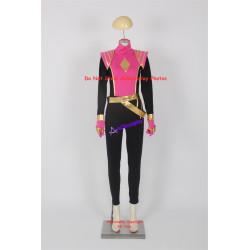 Power Rangers Omega Ranger Pink Ranger Cosplay Costume