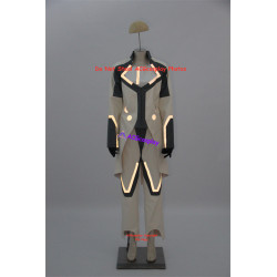 Tron Legacy Zuse Castor Cosplay Costume with phosphor strip