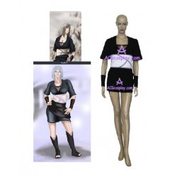 Naruto Team Cloud Samui cosplay costume
