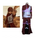 Naruto Shippuden Gaara Red cosplay costume