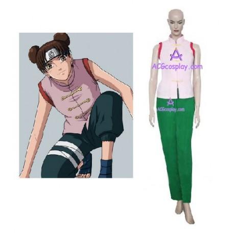 Naruto Tenten Cosplay Costume