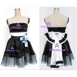Vocaloid lolita dress cosplay costume