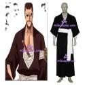 Bleach 7th Division Lieutenant Iba Tetsuzaemon Cosplay Costume