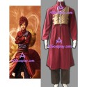 Naruto Shippuden Gaara Red cosplay costume with padding vest