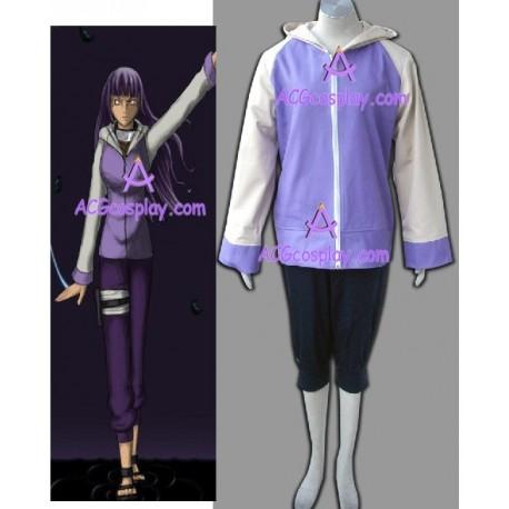 Naruto Shippuden Hinata Hyuga cosplay costume