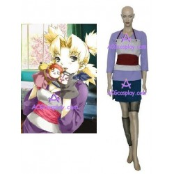 Naruto Temari Fan Art cosplay costumes