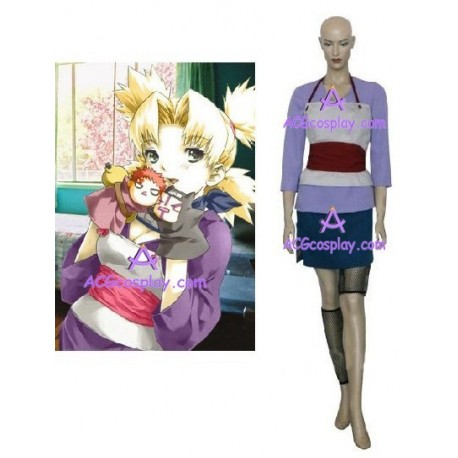 Naruto Temari Fan Art cosplay costumes