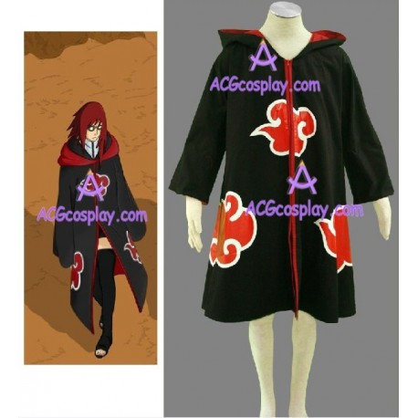 Naruto Team Taka Hawk Sasuke Uchiha Cloak Cosplay Costume