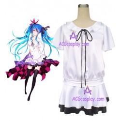 Vocaloid 2 Miku Hatsune My World Cosplay Costume