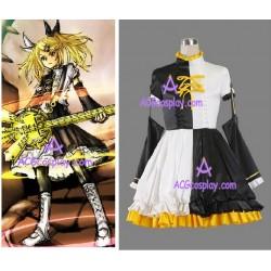 Vocaloid Kagamine Rin Roshinyoukai Gorgeous Cosplay Costume