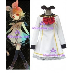 Vocaloid Kagamine Rin version 3 cosplay costume