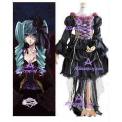Vocaloid Miku Doujin cosplay costume
