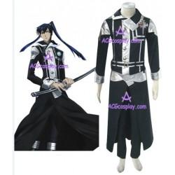 D.Gray-man Yu Kanda  version 9 cosplay costume