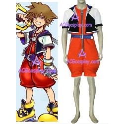 Kingdom Hearts1 Sora cosplay costume