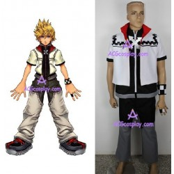 Kingdom Hearts Roxas cosplay costume