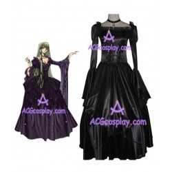 code geass death of Euphemia cosplay costume black dress