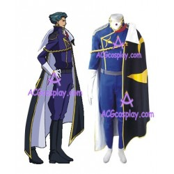 Code Geass Jeremiah Gottwald Cosplay Costume