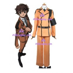 Code Geass LR Suzaku Kururugi's uniform cosplay costume