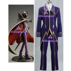 Code Geass Zero cosplay costume purple blue version