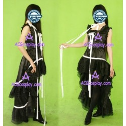 Chobits Chii lolita black cosplay costume