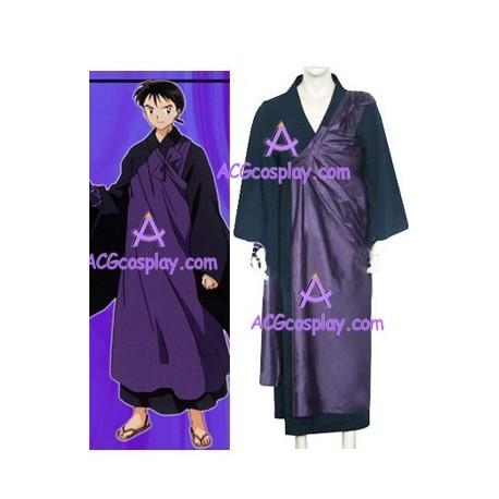 Inuyasha Miroku cosplay costume
