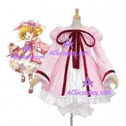 Rozen Maiden Hinaichigo Strawberry Doll cosplay costume