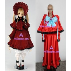 Rozen Maiden Shinku thick satin cosplay costume