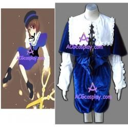 Rozen Maiden Souseiseki Lapis Lazuli Star cosplay costume velvet made
