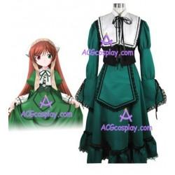 Rozen Maiden Suiseiseki Jade Stern Lolita cosplay costume
