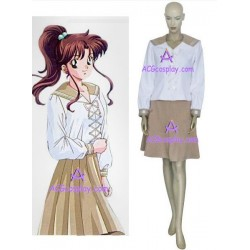 Sailor Moon Sailor Jupiter Lita Kino School Uniform cosplay costume