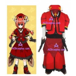 Magical Girl Lyrical Nanoha Vita Cosplay Costume