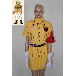 Hellsing Seras Victoria Yellow cosplay costume