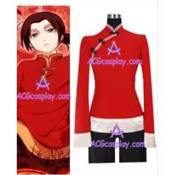 Axis Powers Hetalia China red cosplay costume