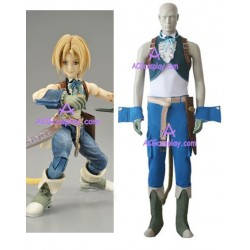 Final Fantasy IX 9 Zidane Tribal cosplay costume