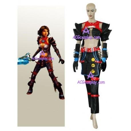 Final Fantasy XII 12 Warrior Yuna cosplay costume