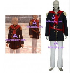 Final Fantasy XIII 13 Agito Boy Uniform cosplay costume