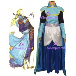Final Fantasy VI Edgar Roni Figaro Cosplay Costume